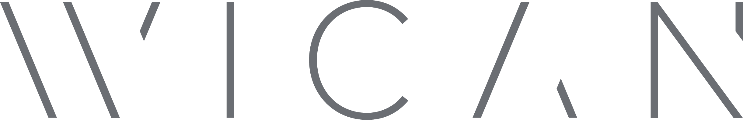 wican logo med grå tekst
