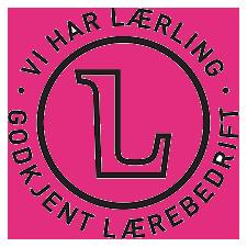 Logo for godkjent lærebedrift
